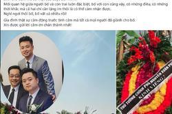 Cảm động con trai viết status tiễn biệt NSND Hoàng Dũng sau tang lễ