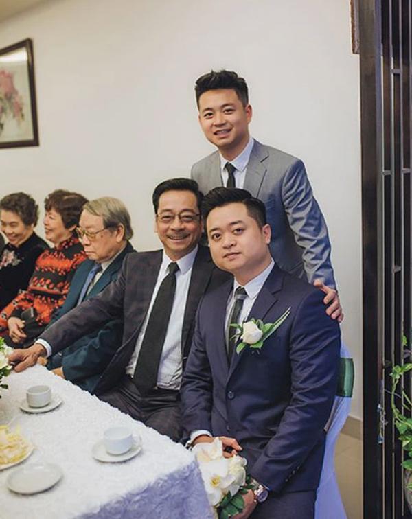 Cảm động con trai viết status tiễn biệt NSND Hoàng Dũng sau tang lễ-3