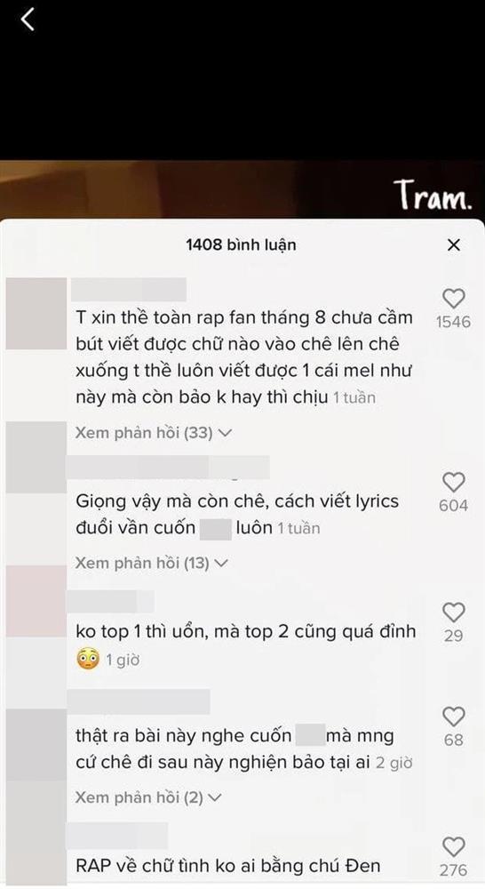 GDucky viết lại lời Tiền Nhiều Để Làm Gì phiên bản 18+: Người khen đỉnh của chóp, kẻ chê không xứng đáng làm Á quân Rap Việt-3
