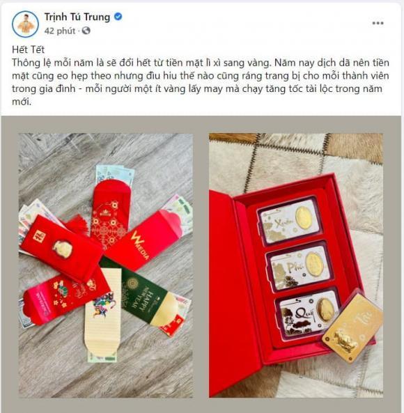 Sao Việt sắm vàng ngày vía Thần Tài 2021: Riêng Di Băng mua 100 cây vàng-11