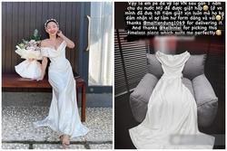 Tóc Tiên kì công gửi sang Mỹ giặt hấp váy cưới 140 triệu để mặc lại trong ngày kỉ niệm
