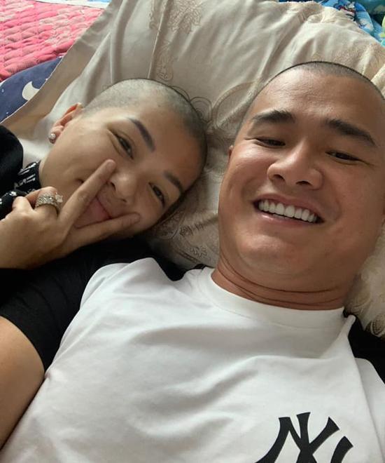 Mỹ nhân 6 con đình đám showbiz Việt bất ngờ cạo đầu trọc lóc-3