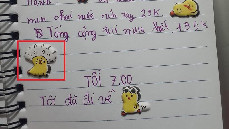 Cười ngất với nhật ký chi tiêu của nhóc tiểu học Đồng Tháp-2