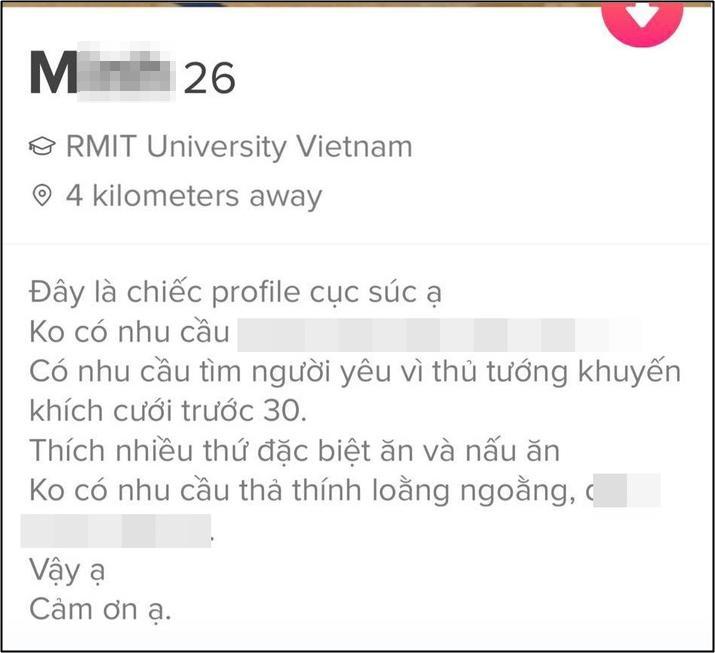 Tuyển tập profile thả thính của các cao thủ trên ứng dụng hẹn hò-6