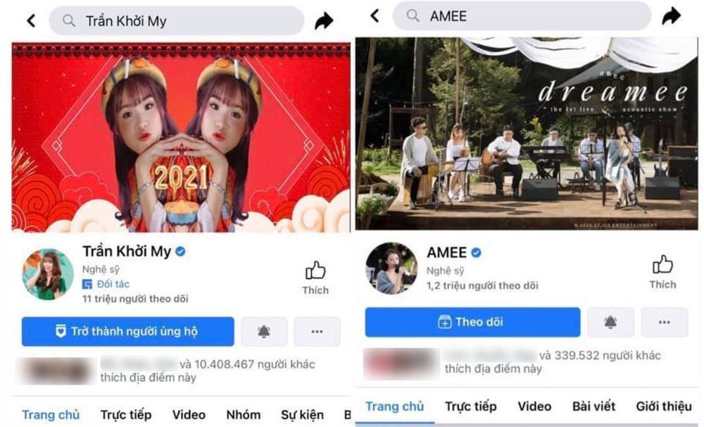 Khởi My bị so sánh với Amee, netizen phẫn nộ: Thời Khởi My nổi tiếng, Amee đang học lớp 2-3