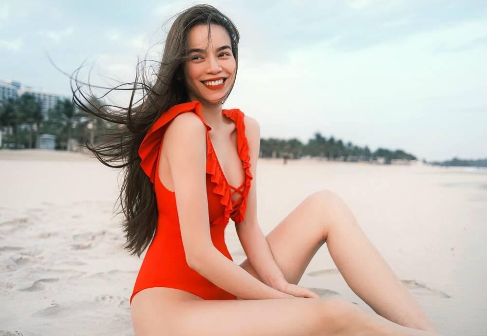 Diện bikini khoe dáng đầu năm: Ngọc Trinh có lép vế trước Ngân 98?-5