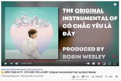 Chủ tài khoản GC vào tận video tố Sơn Tùng đạo nhạc 'Có Chắc Yêu Là Đây'
