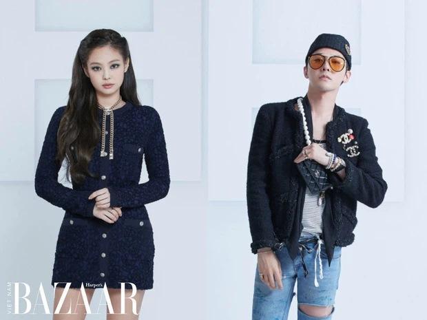 G-Dragon và Jennie hẹn hò: Hai biểu tượng thời trang lên đồ tâm đầu ý hợp-4