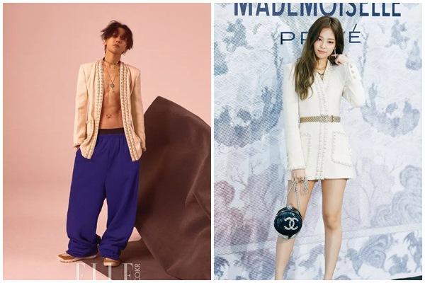 G-Dragon và Jennie hẹn hò: Hai biểu tượng thời trang lên đồ tâm đầu ý hợp-5