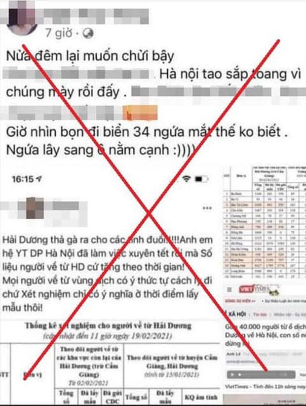 Hà Nội: Triệu tập người phụ nữ dùng tài khoản Facebook xúc phạm người Hải Dương-1