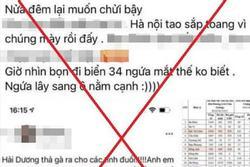 Hà Nội: Triệu tập người phụ nữ dùng tài khoản Facebook xúc phạm người Hải Dương