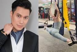 Quỳnh Nga xoạc chân trên không, Việt Anh comment đỏ mặt