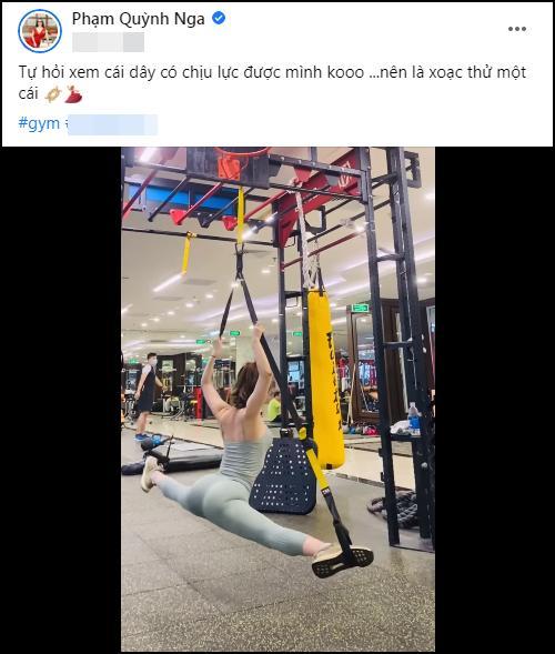 Quỳnh Nga xoạc chân trên không, Việt Anh comment đỏ mặt-1