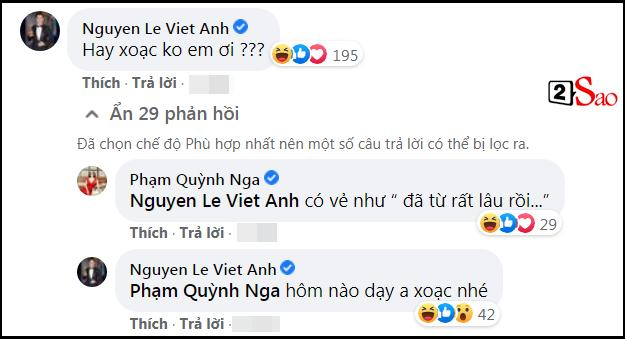 Việt Anh liên tục khẳng định chủ quyền trên ảnh Quỳnh Nga-4