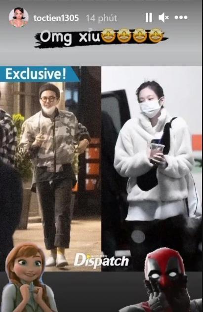 Sao Vbiz rần rần vì tin G-Dragon và Jennie hẹn hò: Huyền My - Tóc Tiên xỉu ngang xỉu dọc-2
