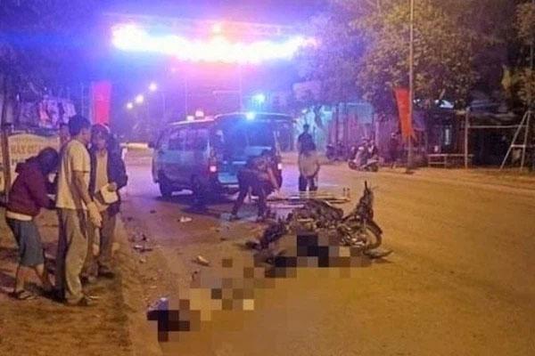 Hoà Bình: Hai xe máy tông nhau, 2 người chết, 1 người bị thương-1