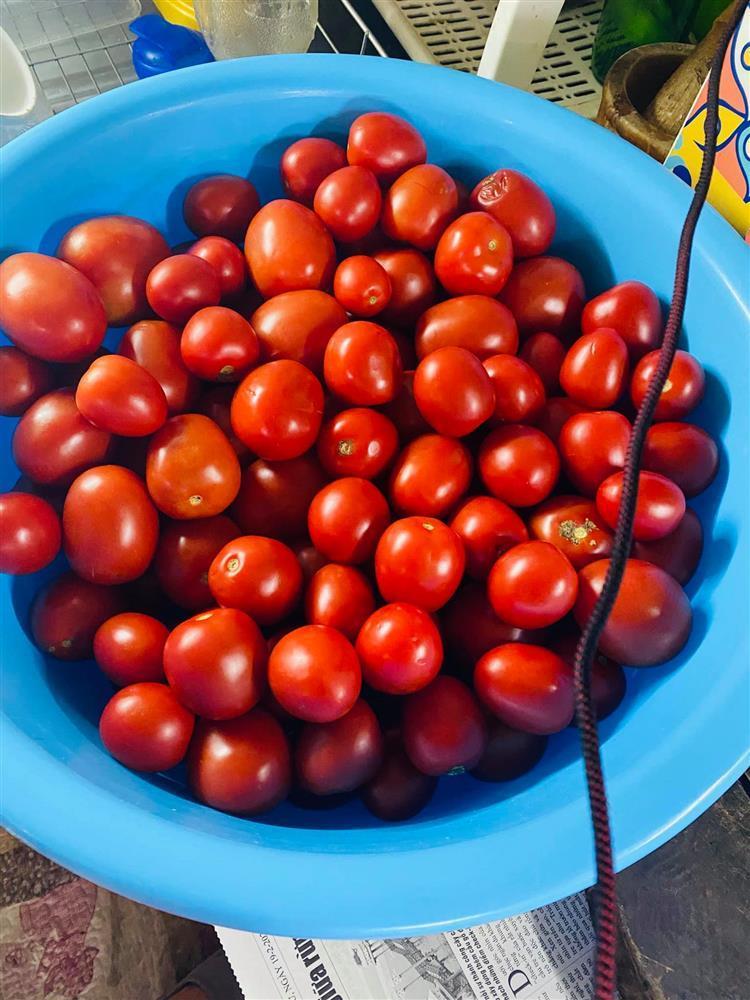 Mẹ Hà Nội mách cách làm tương cà siêu sạch từ cà chua giải cứu nông sản-4