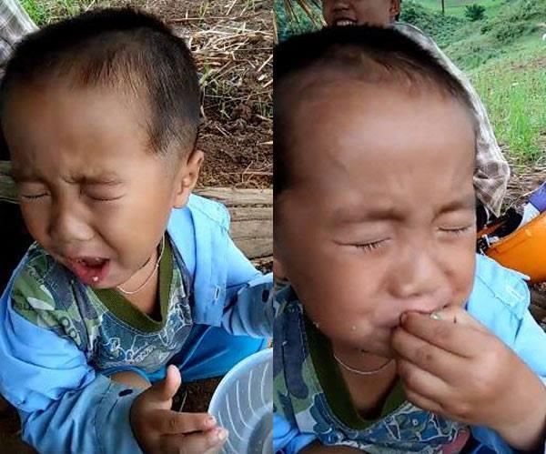 101 biểu cảm của bé khi bị dụ ăn chua khiến ai cũng đổ gục-5