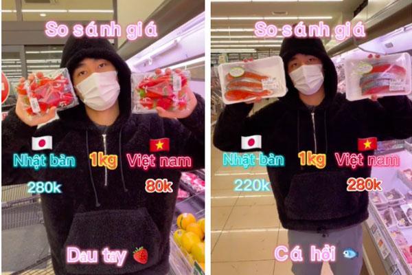 Chàng trai làm clip so sánh giá thực phẩm bán ở Nhật và Việt Nam, dân mạng tranh cãi nảy lửa-2