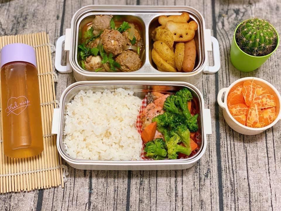 Vợ 8X ở Nhật dậy từ 6h nấu cơm hộp cho chồng, bữa nào cũng ngon mà chẳng hề lặp món-2