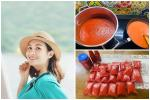Mẹ Hà Nội mách cách làm tương cà siêu sạch từ cà chua 'giải cứu' nông sản