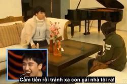 Fan lầy lội chế chuyện tình G-Dragon và Jennie bằng cảnh phim 'Secret Garden'