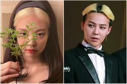 G-Dragon và Jennie là 'ông hoàng bà chúa' của những kiểu tóc dị thường