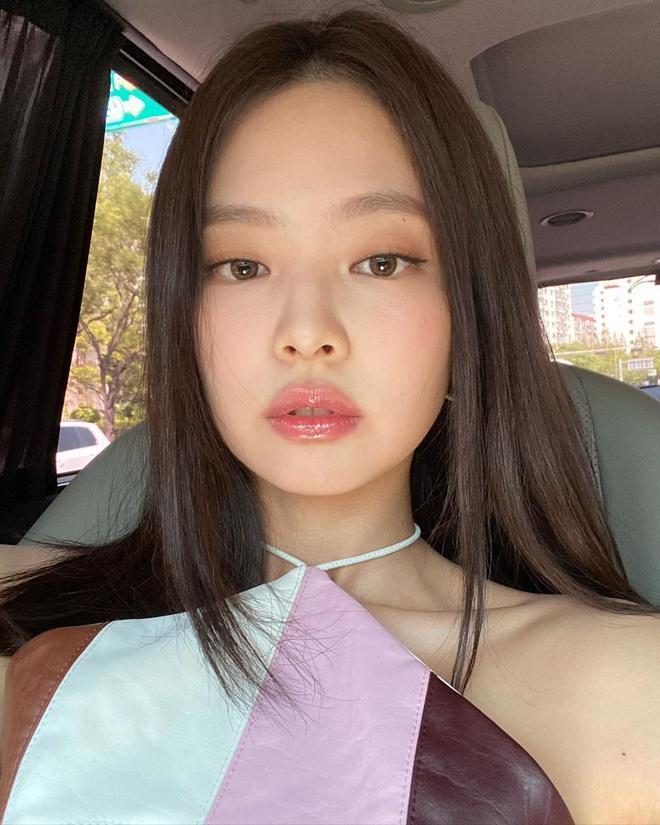 Loạt make-up look chất lừ của Jennie khiến G-Dragon mê mệt-1