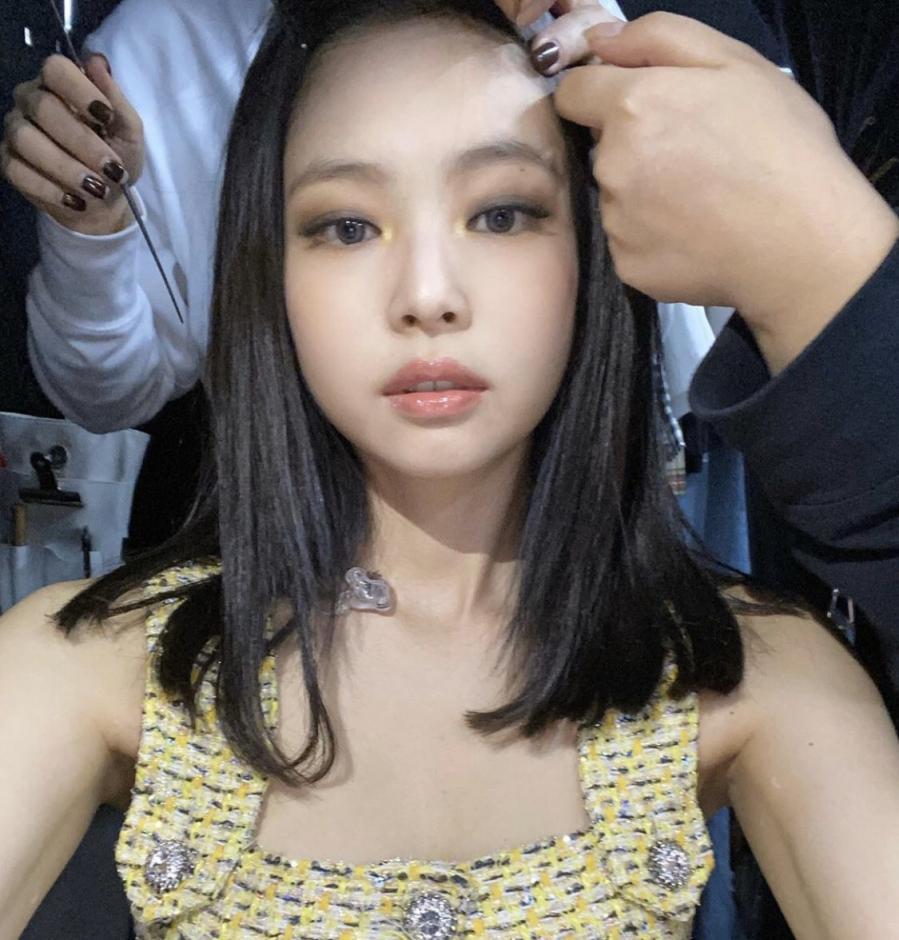 Loạt make-up look chất lừ của Jennie khiến G-Dragon mê mệt-3