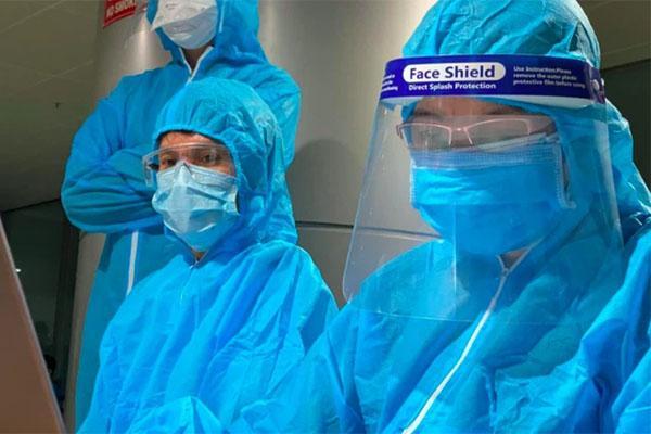 Nhân viên bán xăng ở huyện Tứ Kỳ, Hải Dương nhiễm Covid-19-1