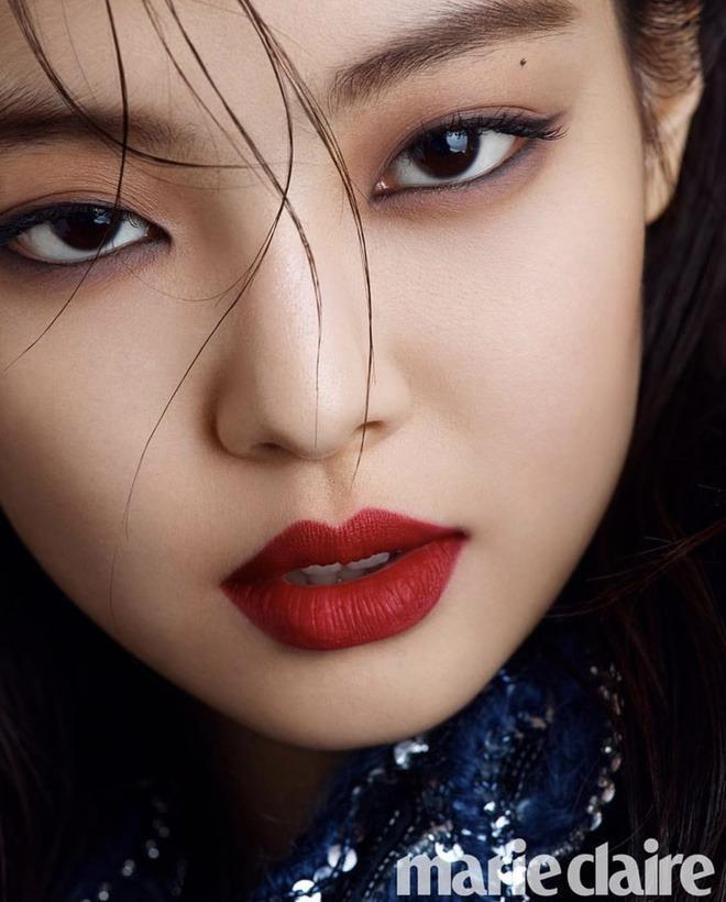 Loạt make-up look chất lừ của Jennie khiến G-Dragon mê mệt-6