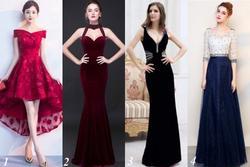 Chọn một chiếc váy để biết vận số ngập tràn may mắn hay đầy rẫy rủi ro
