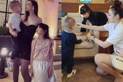 Con gái Huyền Baby mới 8 tuổi đã bộc lộ tố chất mỹ nhân