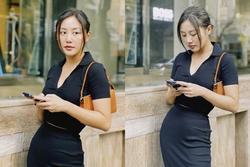 Văn Mai Hương suýt bị giật điện thoại vì mải 'sống ảo'