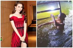 Bị chê quay cảnh tắm tiên lộ nửa ngực nhạy cảm, Hoa hậu Phan Thị Mơ đáp trả