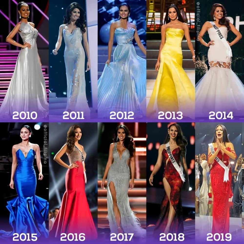 Thập kỷ làm mưa làm gió của Philippines tại Hoa hậu Hoàn vũ-1