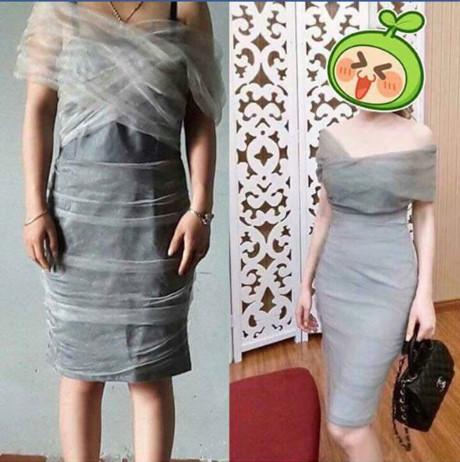 Đặt váy ngủ sexy, cô gái nhận về sản phẩm y chang tạp dề ngoại cỡ-4