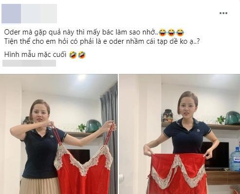 Đặt váy ngủ sexy, cô gái nhận về sản phẩm y chang tạp dề ngoại cỡ-1