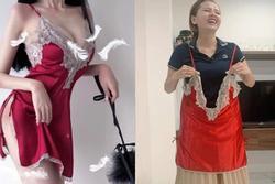 Đặt váy ngủ sexy, cô gái nhận về sản phẩm y chang tạp dề ngoại cỡ