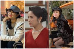 Bà Bạch Cúc phim 'Hướng Dương Ngược Nắng' ăn mặc sành điệu ngoài đời