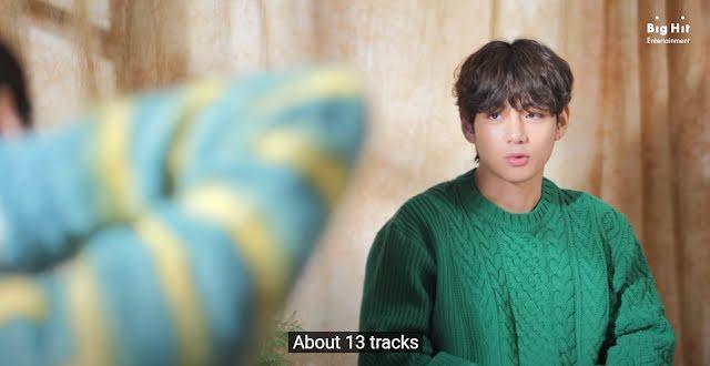 Bật mí những điều cần biết về mixtape KTH1 của V BTS-2