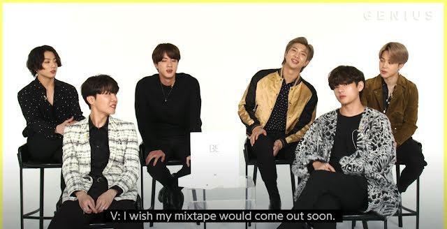 Bật mí những điều cần biết về mixtape KTH1 của V BTS-3