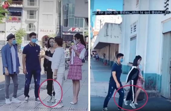 Nhã Phương, Đỗ Mỹ Linh, Hòa Minzy kiễng chân hack chiều cao-4
