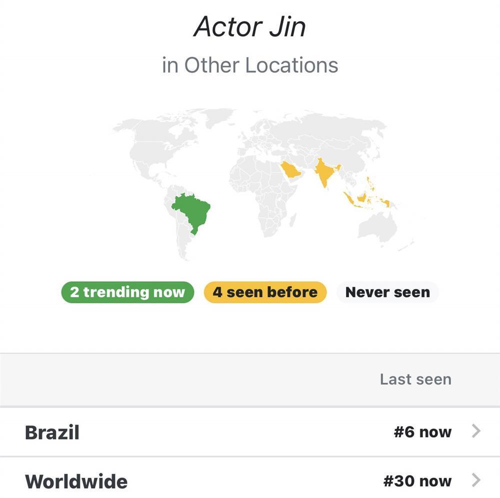 Jin BTS gây bão trending thế giới chỉ với một câu chú thích-1