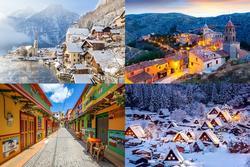 Những ngôi làng đẹp như cổ tích khắp thế giới