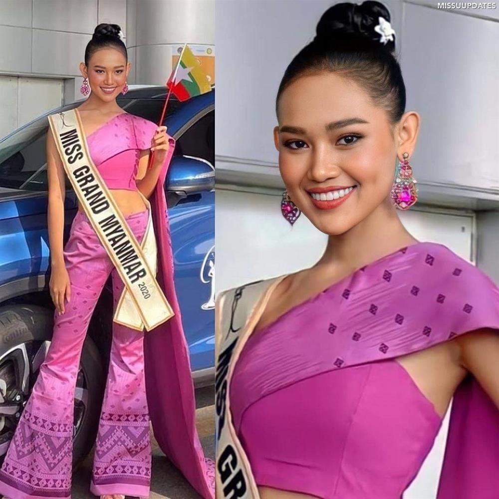 Thí sinh Miss Grand 2020 lên đường: Ngọc Thảo ghi điểm, Venezuela phản cảm-6