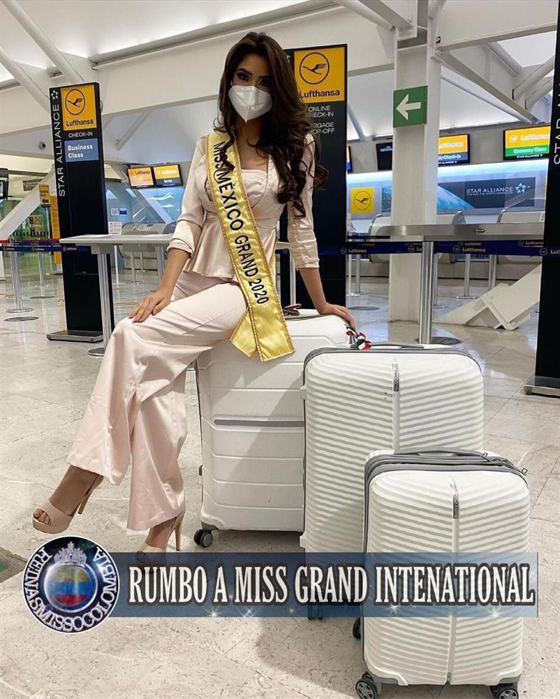 Thí sinh Miss Grand 2020 lên đường: Ngọc Thảo ghi điểm, Venezuela phản cảm-10