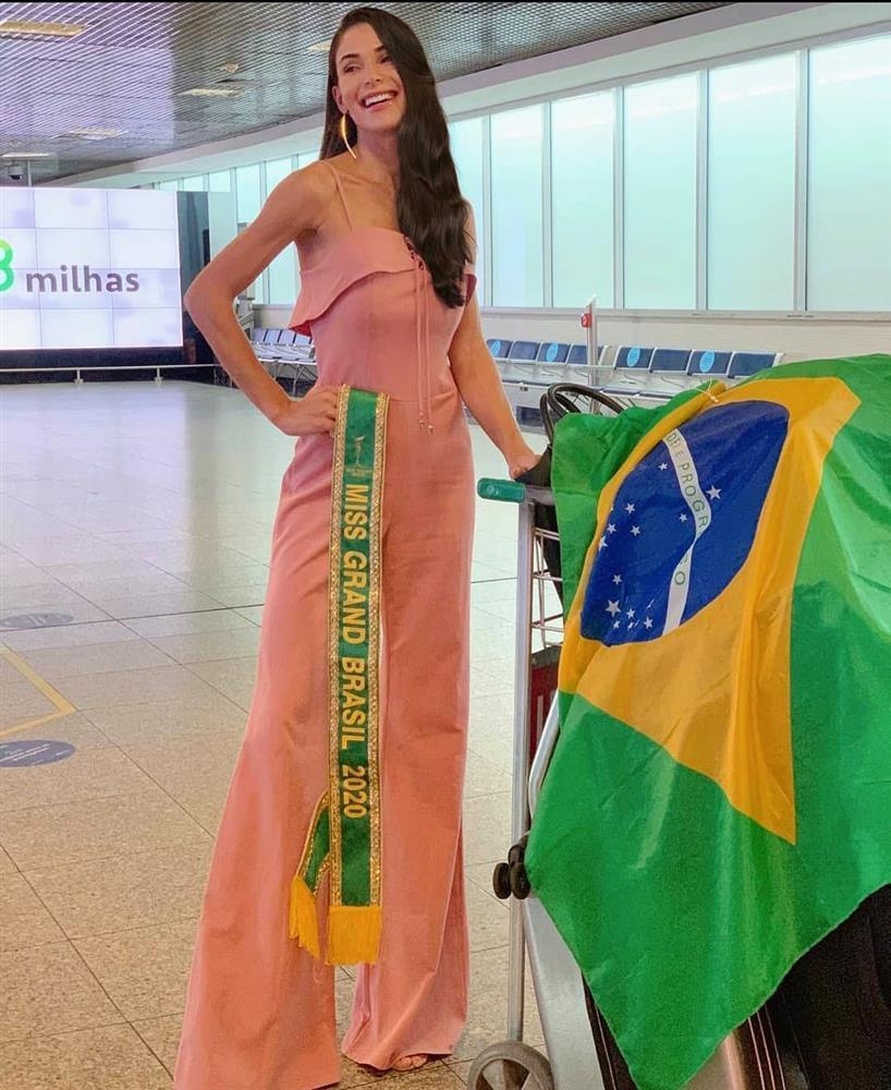 Thí sinh Miss Grand 2020 lên đường: Ngọc Thảo ghi điểm, Venezuela phản cảm-12