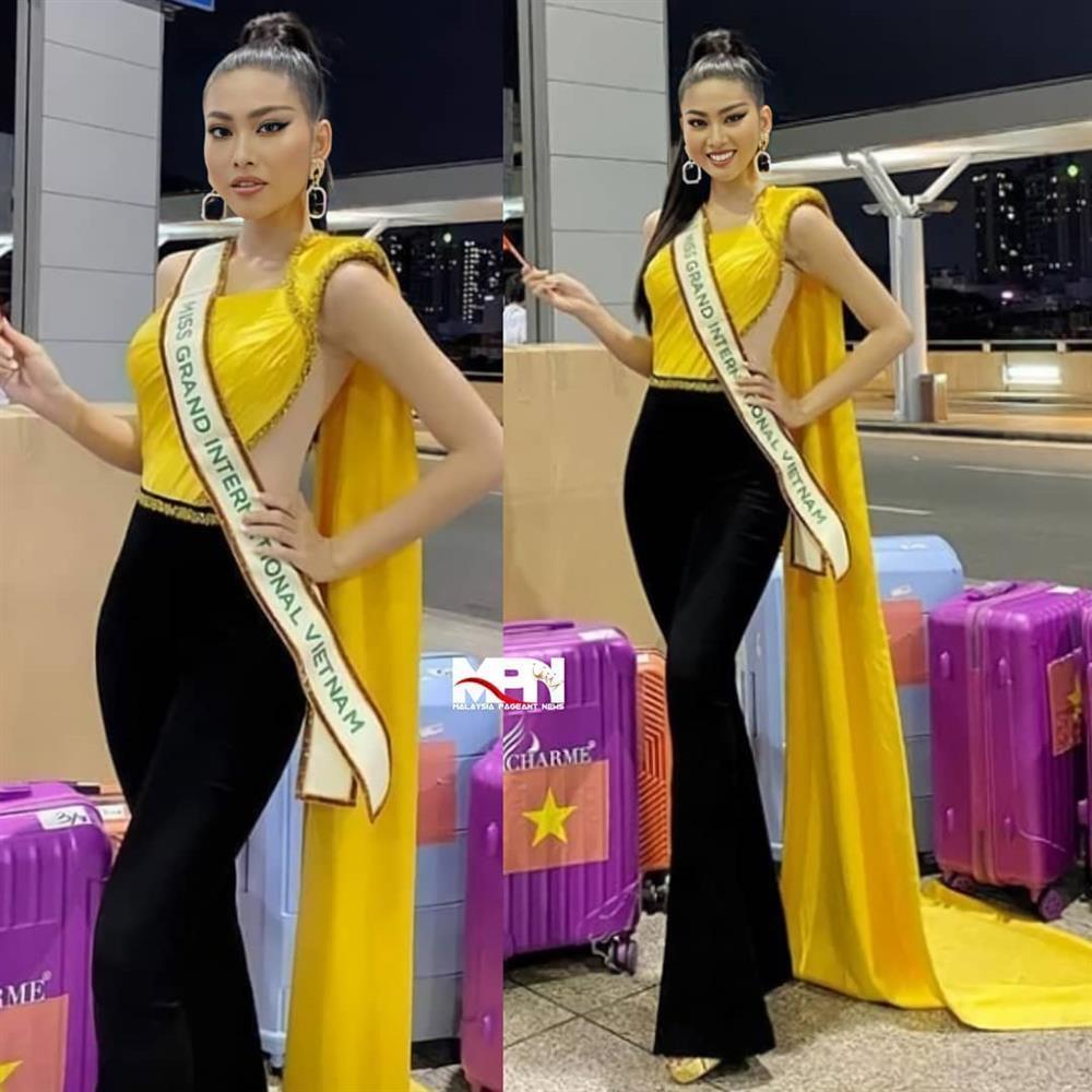 Thí sinh Miss Grand 2020 lên đường: Ngọc Thảo ghi điểm, Venezuela phản cảm-1