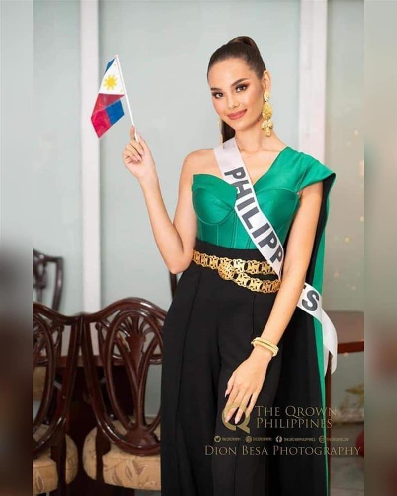 Trang phục xuất trận Miss Grand của Ngọc Thảo bị soi giống Catriona Gray-8